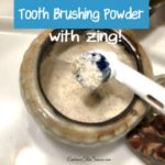 Tooth Brushing Powder with Zing!