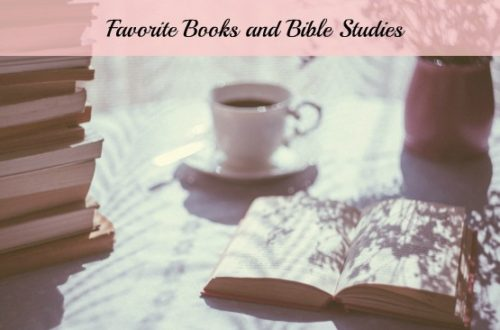 Favorite Books and Bible Studies